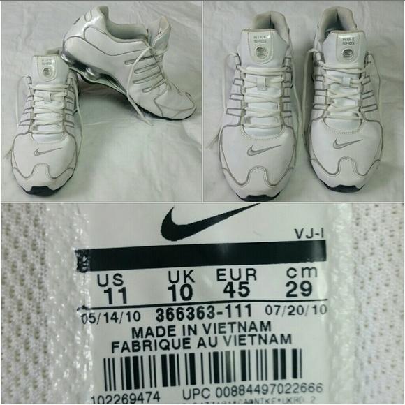 c43ba75d7e8 Men s Nike Shox NZ LS Running Shoes 11. M 5bad13871b329468a13c258f